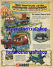 Corgi Toys 1139 1144 Chipperfields Circus Poster Advert Sign Leaflet from 1969
