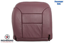 95-99 Chevy Suburban Tahoe Diesel 4X4 LT-PASSENGER Bottom Leather Seat Cover Red