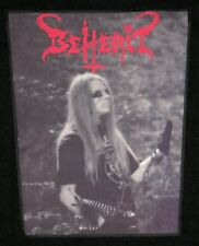 Beherit-Nuclear Holocausto (FIN), Back Patch