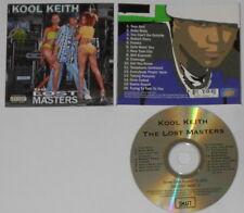 Kool Keith - The Lost Masters  U.S. promo cd