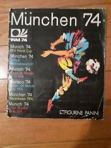 ALBUM WORLD CUP 1974 PANINI COMPLETE