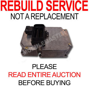 Rebuild Repair of 00 01 02 03 04 05 Corvette LeSabre Park Ave Deville Delphi ABS