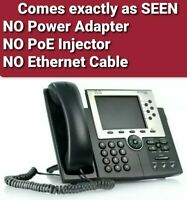 Cisco 7965 CP-7965G 6-Line Unified IP VoIP Phone | Office Business Phone |