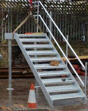 Steel-staircase, metal stairs, metal fire-escape galvanised all sizes £1091+vat