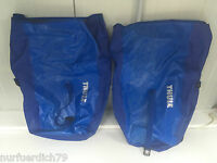 2x Thule Pack' N Pedal Fahrradtasche blau L Gepäcktasche 24L 33 x 43.2 x 15.2 cm