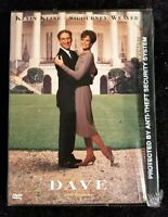 Video DVD - DAVE - Kevin Kline Sigourney Weaver - New WORLDWIDE SHIPPING