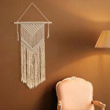 20x40'' Macrame Wall Hanging Woven Decor Handmade Retro Textile Boho Chic Room