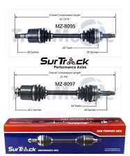 Ford Probe Mazda 626 MX-6 FWD L4 V6 Pair of Front CV Axle Shafts SurTrack Set