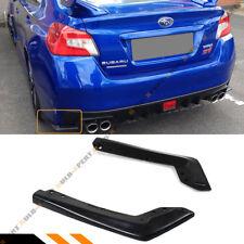 For 2015-2018 Subaru WRX Sti VA1 VA2 2pc JDM Style Rear Bumper Side Aprons Spats