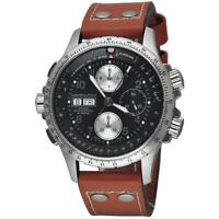 HAMILTON KHAKI X-WIND AUTOMATIC HOMME 44MM CUIR AUTOMATIQUE MONTRE H77616533