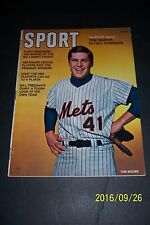1970 Sport Magazine NEW YORK Mets TOM SEAVER News Stand NO LABEL In Full COMMAND
