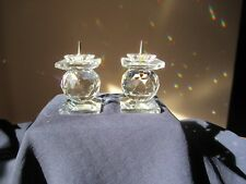 Stunning Swarovski Candleholders will put some sparkle in your life.