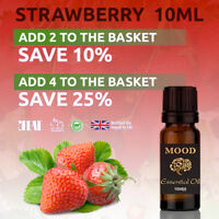 10ml Strawberry Fragrance Oil Natural Home Fragrances Candle & Soap Making