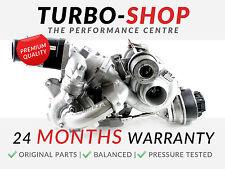 VW Twin Turbocharger 2.0 TDI CKUB 10009700113 03L145715L 03L145873A