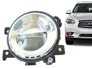 For 2014-2018 Infiniti Q50 Q60 QX50 Qx60 Qx80 Right Front Bumper Fog Light LED R