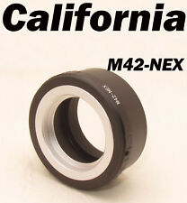 Metal M42 to Sony E mount Adapter Screw Lens NEX 5 NEX-7 NEX-C3 NEX-5N NEX-VG10