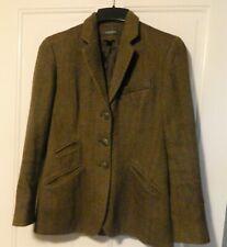 🐎Lauren Ralph Lauren  Wool Tweed military/ equestrian jacket Size 4