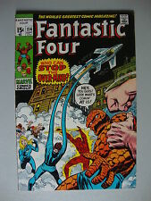 Fantastic Four #114 VG/F Who Can Stop The Over Mind