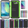 Armor Shockproof Rubber Case Cover For Samsung Galaxy J3 Luna Pro / J3 Eclipse