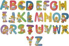 Bieco Holzbuchstabe bunt Deko Kinderzimmer Bär Holz Holzbuchstaben