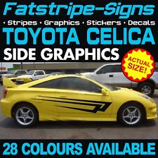 TOYOTA CELICA GRAPHICS STICKERS STRIPES DECALS VVTI GT SPORT TRD 1.8 T200 T230