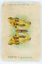 c1912 Tokio Cigarettes Silk Butterfly