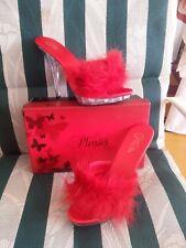 Pleaser Lip101-8 Men's size 8 sexy slipper slide Mules Pump UNISEX womens 10