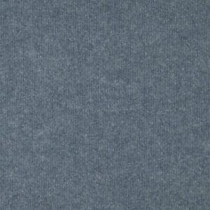 Light Blue Budget Cord Carpet, Cheap Thin Temporary Flooring, Exhibition, Event