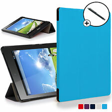 Forefront Cases® Blue Folding Smart Case Cover Acer Iconia One 7 B1-780 Stylus