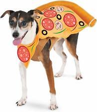 Pizza Slice Dog Costume - M or L - Halloween - Shirt w/ Foam Costume - NWT