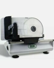 Belt Driven 150 W 7.5 in. Black Stainless Steel Food Slicer By LEM