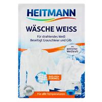 Heitmann Wäsche - Weiss Waschmittel strahlendes Weiß beseitigt Grauschleifer