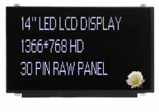 """Ibm Lenovo Fru: 01Lw082 14"""" Led Lcd Hd Display Panel Screen Matte Ag New"""