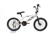 "Diamondback Skindog 20"" Single Speed Kid's BMX Bike Gyro U-Brake White"