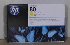 HP 80 CARTUCCIA INCHIOSTRO c4848a GIALLO dj 1050 C PLUS 1055 cm cm PLUS 2016 OVP a
