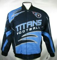 Tennessee Titans NFL Team Apparel Men's Snap Up Jacket