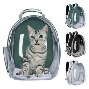 Pet Backpack Carrier Breathable Dog Cat Travel Bag Space Capsule for Small Puppy
