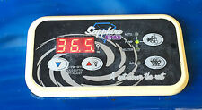 Sapphire Spas Top side Rectangle Control Panel Touchpad Controller Coral Sands