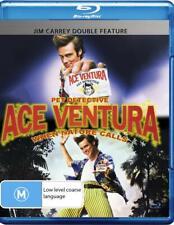 ACE VENTURA Pet Detective / When Nature Calls Jim Carrey BLU RAY Region B  New
