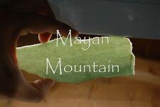 NEW COLOR: GREEN JEMMA GUATEMALAN JADEITE JADE ROUGH MAYAN MOUNTAIN