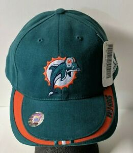 VINTAGE NFL MIAMI DOLPHINS ADIDAS HAT NEW