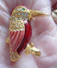 Unbranded Crystal Animals Vintage Costume Jewellery