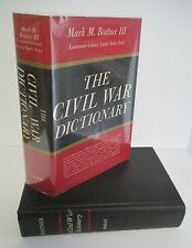THE CIVIL WAR DICTIONARY by Mark Mayo Boatner III, in DJ