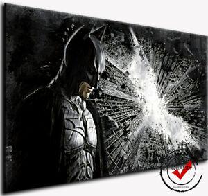 Batman,Leinwand Bild Bilder Wandbild Film Kunstdrucke Film kein Poster dvd Joker