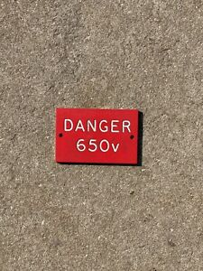 Electric Warning Sign