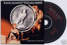 RAGE AGAINST THE MACHINE Sleep Now In..UK 1trk promo CD