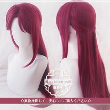 Love Live! Sunshine!! Sakurauchi Riko Long Straight Red Cosplay Costume wig