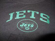 New York Jets Black Green Glitter NFL T-shirt Sz Juniors Small