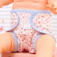 Baby Accessories Cute Cartoon Printed Cotton Diapers Wash Baby Diapers