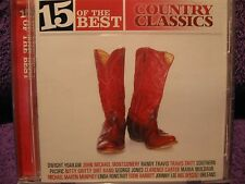 15 of The BEST - COUNTRY CLASSICS - By Various Artists -NEW- Free Postage